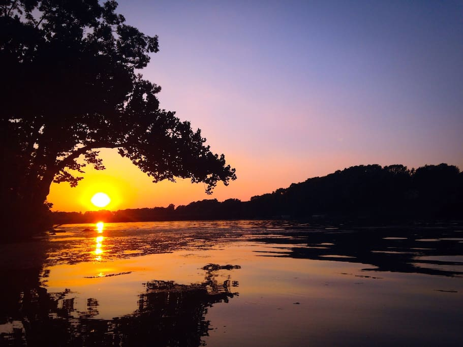 Sunset Paddleboat Ride