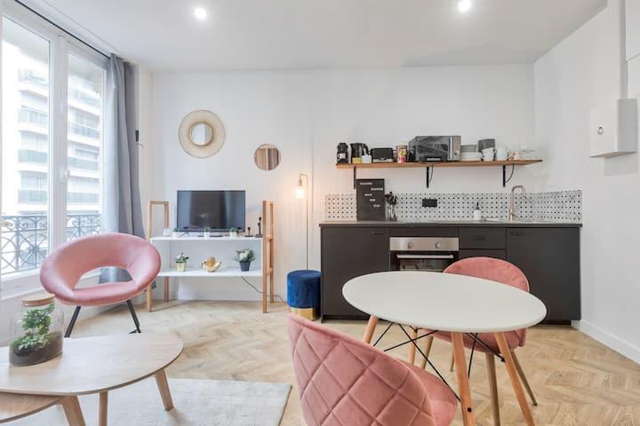♥ Appartement cosy proche Arc de Triomphe - 4P