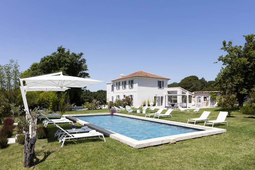 Aix en provence bastide en pierre tres grand luxe villas for rent in aix en - Cote bastide aix en provence ...