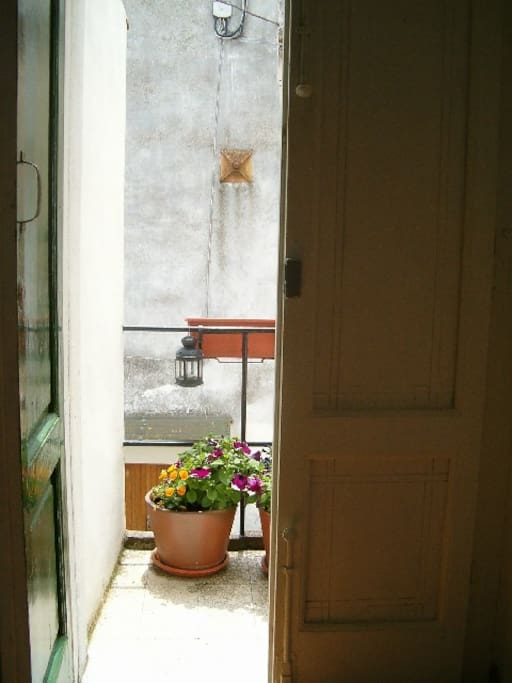 Situated in a secluded courtyard in the borgo.