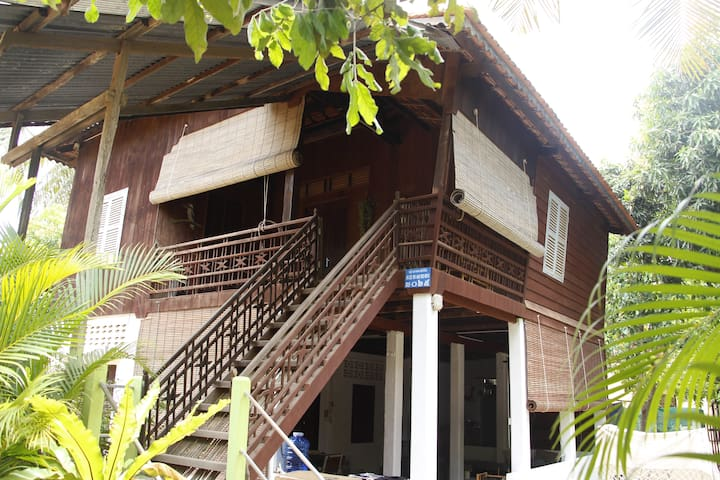 Private room in traditional Wooden Khmer house - Krong Siem Reap - Other