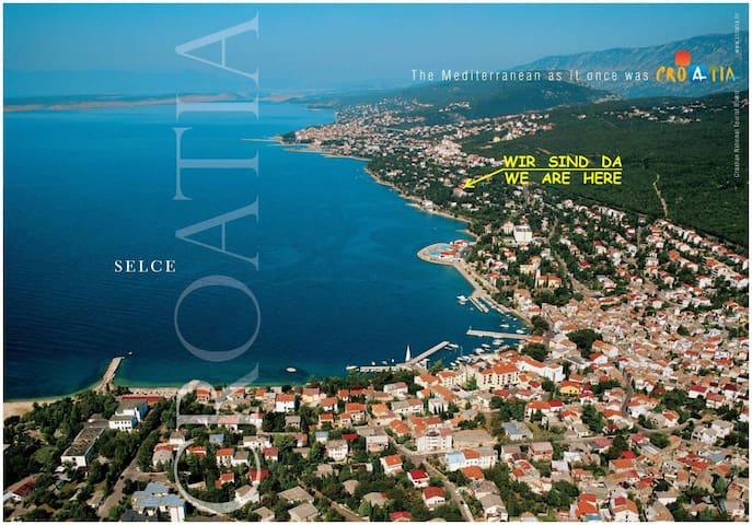 Vacation in Selce (Crikvenica) - Selce, Croatia - Flat