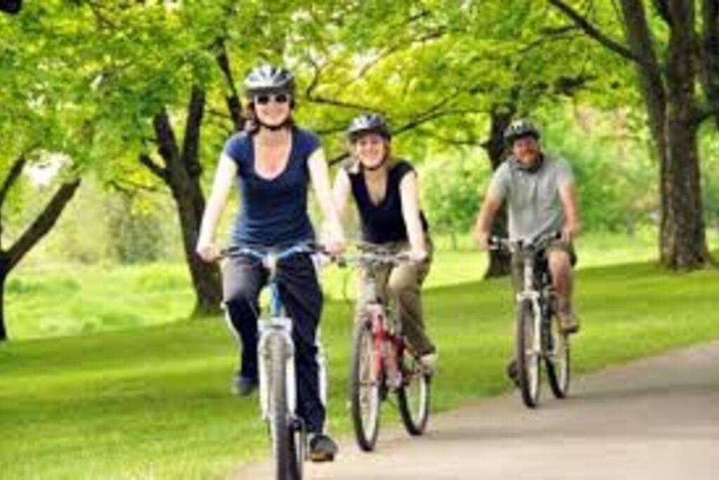 Bici sendas, para recorrer toda la ciudad en bicicleta