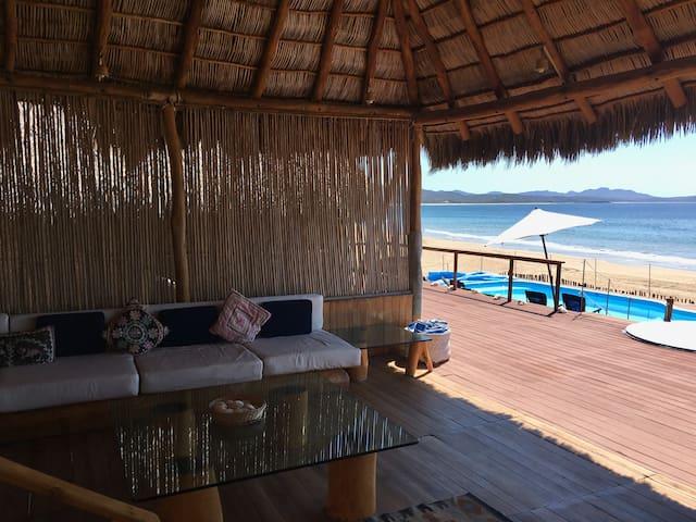 Amazing Beach House in Unique Bahia de Chamela