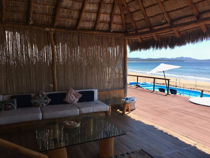 Amazing Beach House in Unique Bahia de Chamela