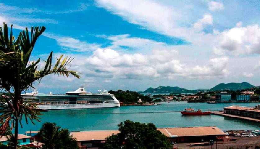 Harbor Vista Inn. - Castries City - Leilighet