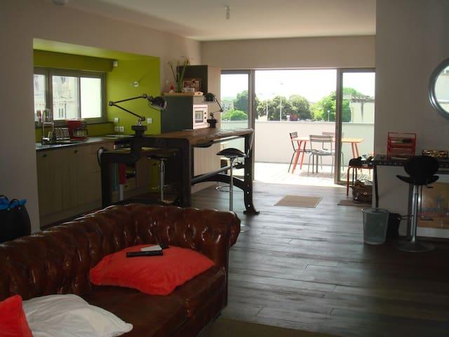 appart terrasse centre la rochelle - La Rochelle - Apartment