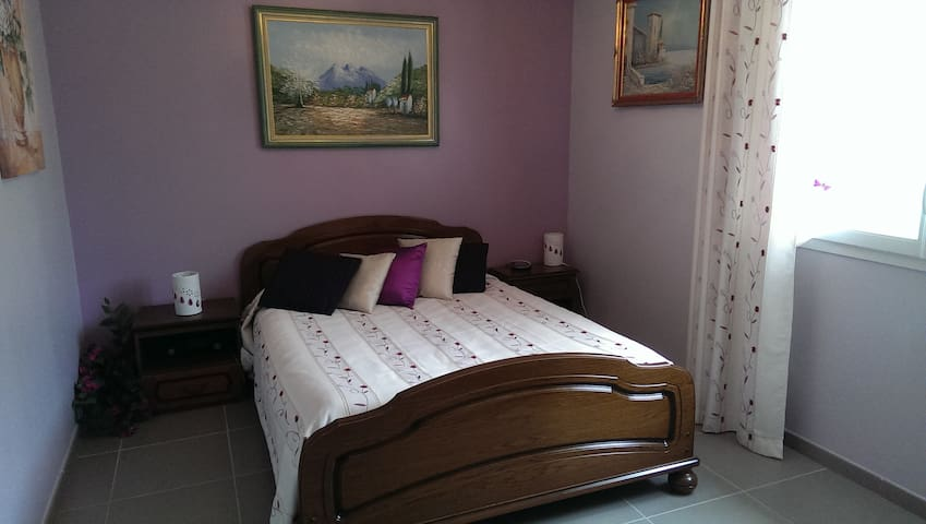 Chambre mauve - Orthez - Pension