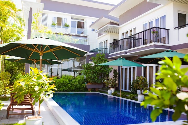 Pleasant 1-BR Unit with Pool Access - Hải Châu