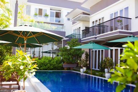 Pleasant 1-BR Unit with Pool Access - Hải Châu