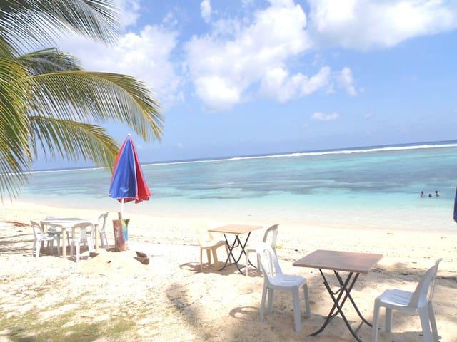 WHITE SANDS PARADISE BEACH RESORT - Burgos, Siargao Island - Apartment