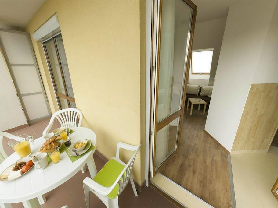 Terrace - Livingroom