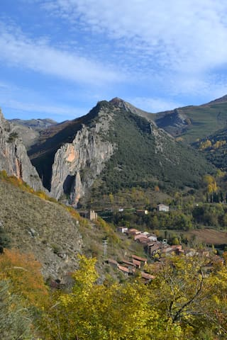 Vista panorámica desde el Barrio de Cuevas