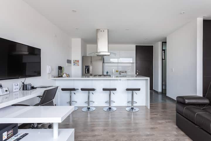 Espectacular apartamento minimalista Calle 116