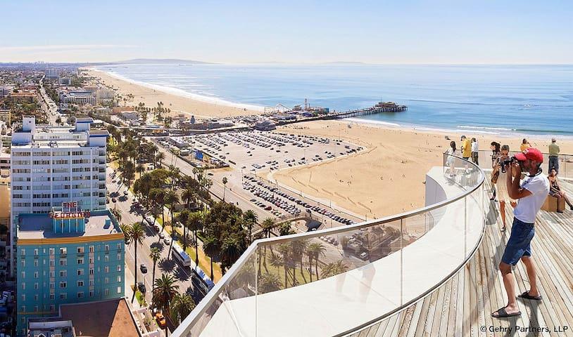 luxury  in SM 5 min to the beach - Santa Monica - Wohnung