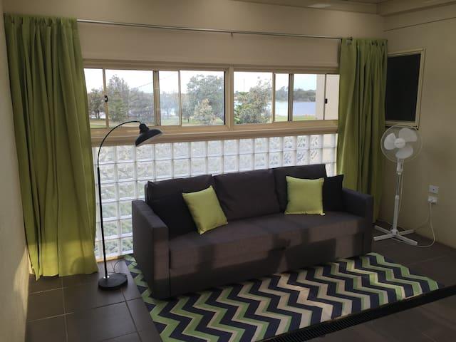 Sofa bed in alfresco