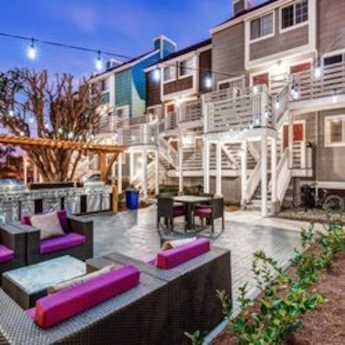 Two Story Surf City Beach Pad Across From Beach Apartments For Rent In Huntington Beach