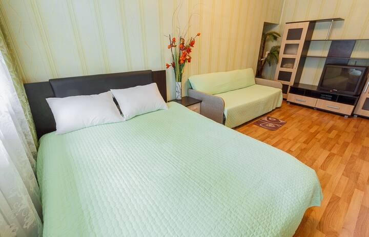 Уютная квартира с парковкой в центре Тулы