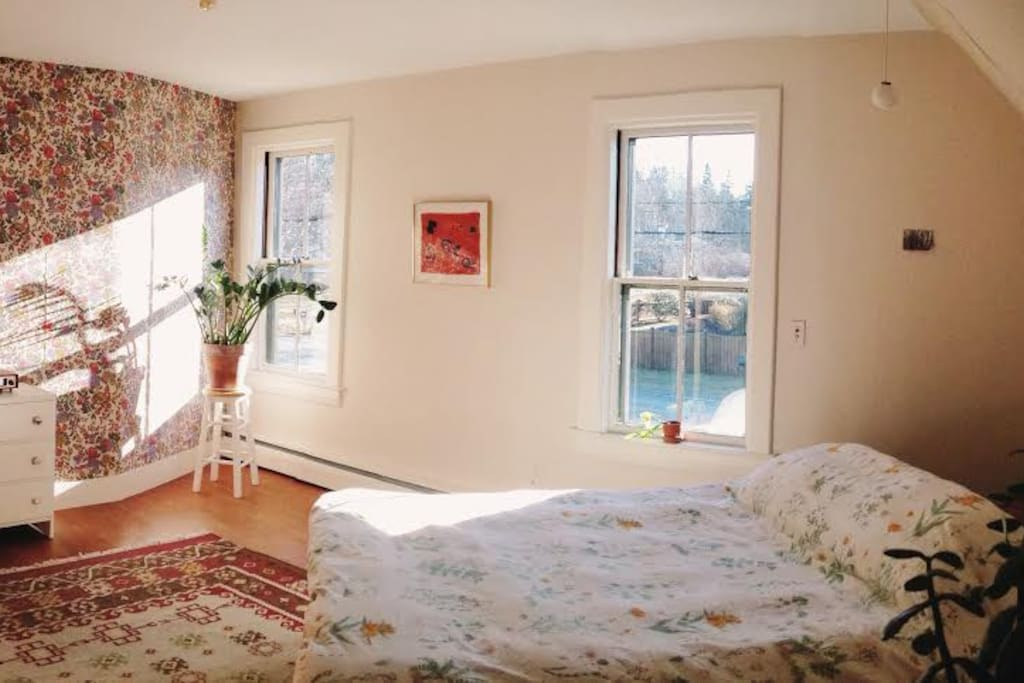 Large Upstairs Master Bedroom