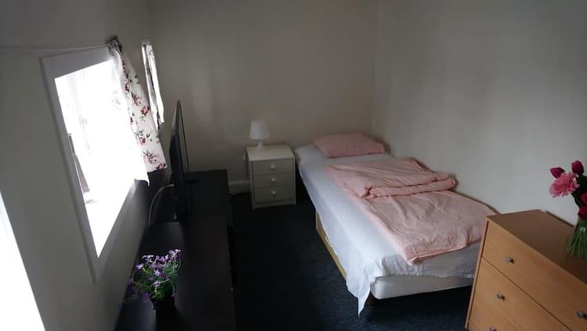 room on a farm , 20 km from køge