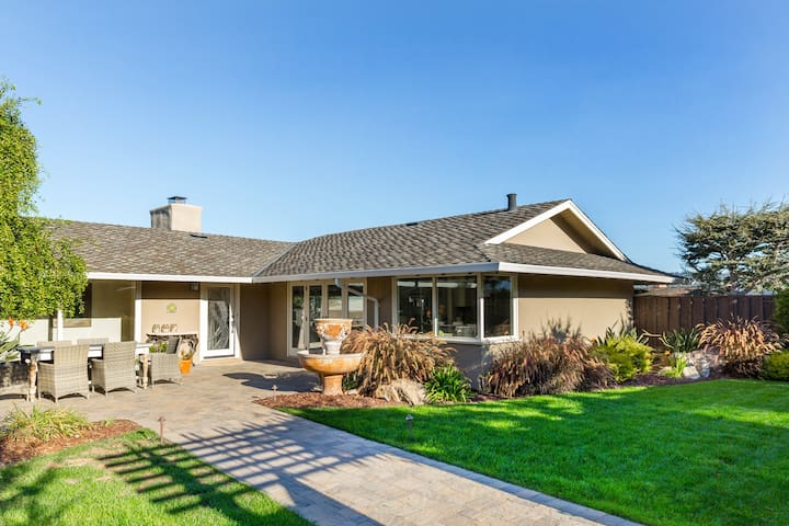 Ocean-View Gem with Patio & Grill - Walk to Beach