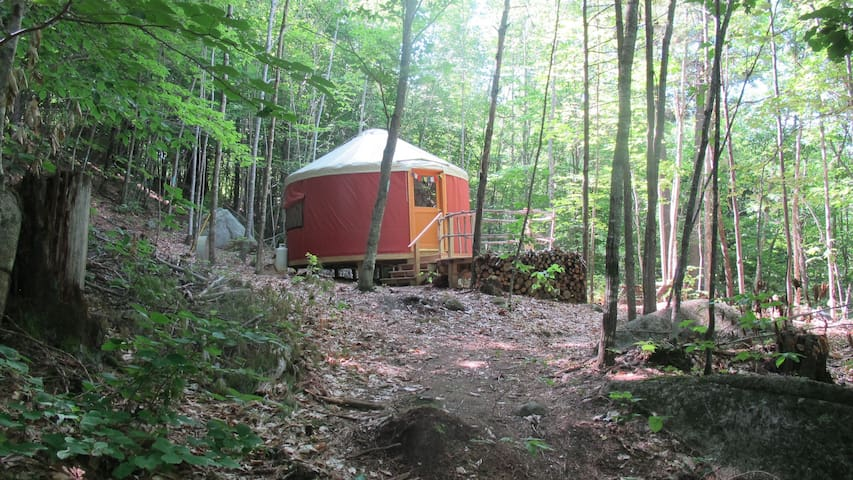 Sunset Yurt Off-The-Grid Retreat Shelter in Place