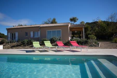 Villa met prive zwembad Moulézan, Gard - Moulézan - Hus