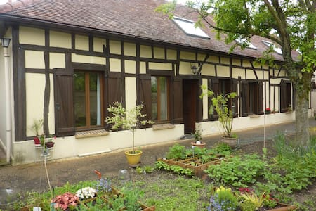 maison champenoise  pan de bois 5p  - Rumah