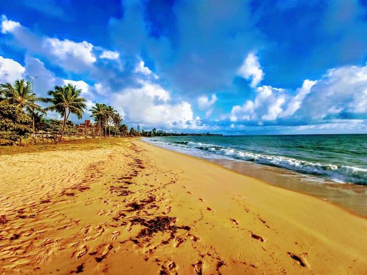 Ap Inteiro a 90m da Praia de Manaíra
