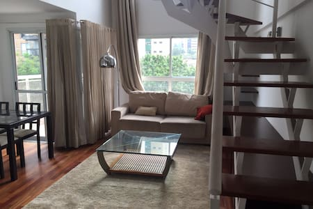 Charming duplex loft, perfect location - São Paulo - Loft