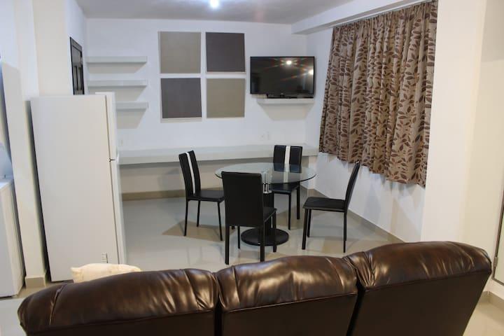 Suite Ejecutiva - equipada, excelente ubicación.