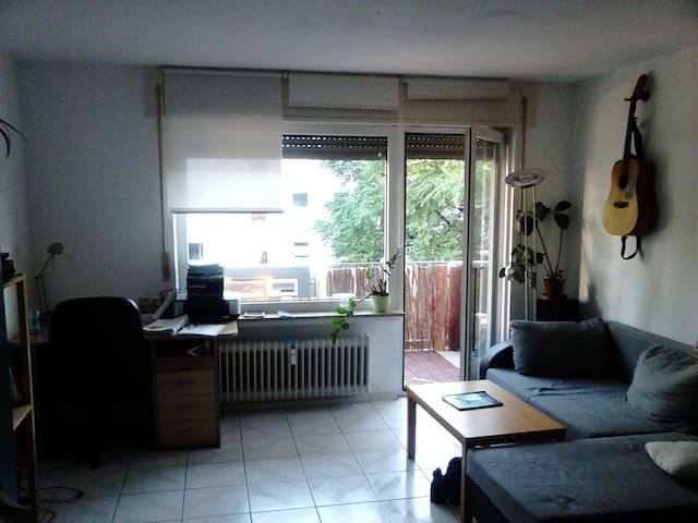 Big bright room with balcony in cozy appartment - Freiburg im Breisgau - Pis