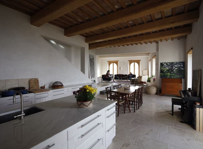Elegant stone casa 1 hour from Rome - Guardea - Casa