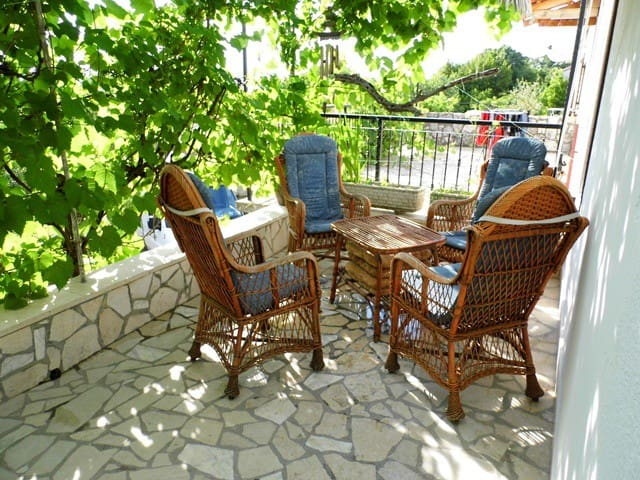 Colorful vacation on Krk, Croatia - Malinska - Appartement
