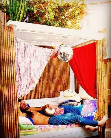 Outdoor Cabana Bed!