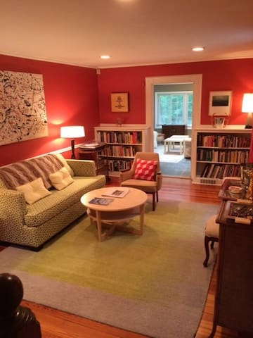 The Den. Hang out and read. Have a drink.