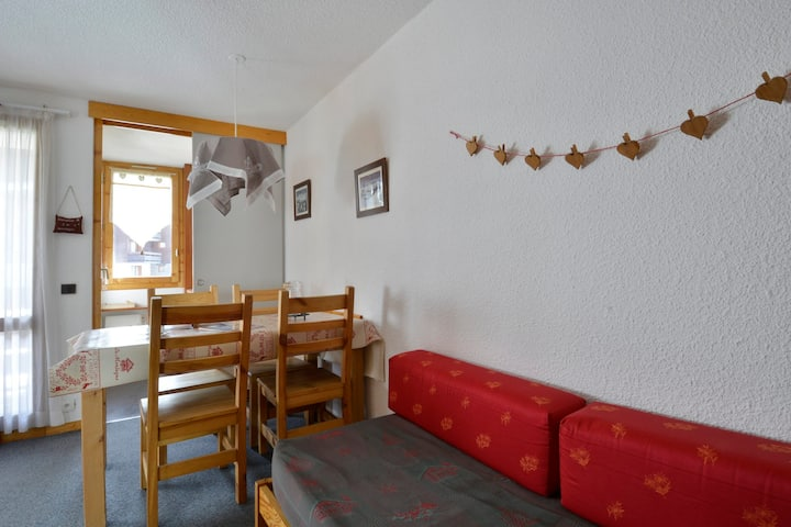 Very nice studio on the resort center for 4 people of 28 m²