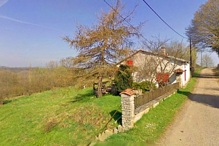 Le petit paradis: rust en ruimte - Bousseraucourt - Hus