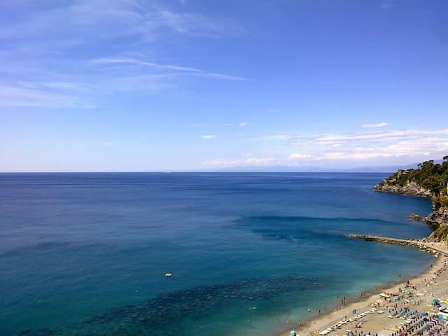 Splendida vista sul Golfo Paradiso - Sori - Flat