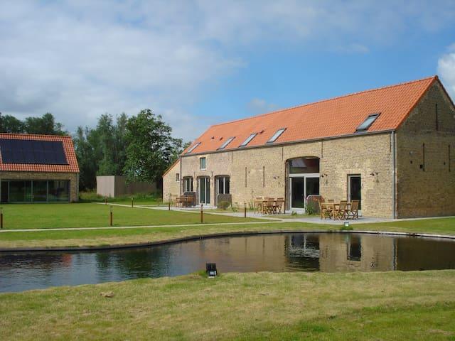Finca De Hagepoorter - Jabbeke - Cabaña en la naturaleza