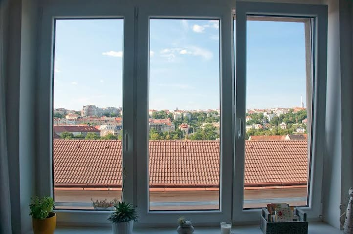 Cosy apartment with a stunning view - Praag - Appartement