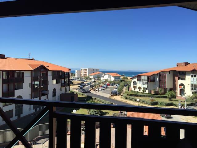 Vue depuis le balcon/terrasse couverte