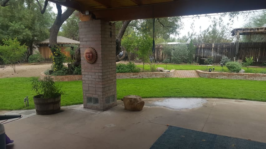 Green Room in Central Tucson home