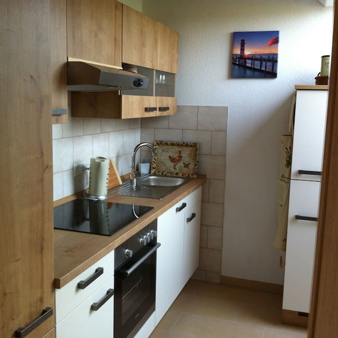 Modern ingerichte keuken