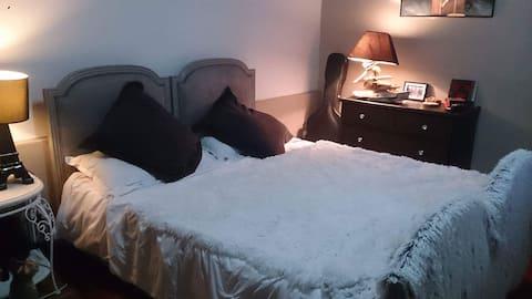 Appartement avec chambre très cosy
