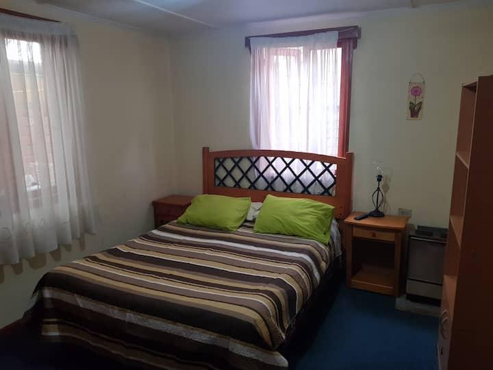 Cómoda Habitación matrimonial en Punta Arenas