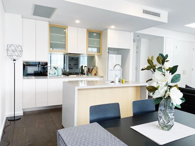 Spacious 1bd apt near DarlingHarbour & FishMarket