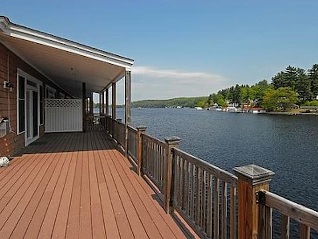 Waterfront Condo On Winnipesaukee - Alton - Apartament