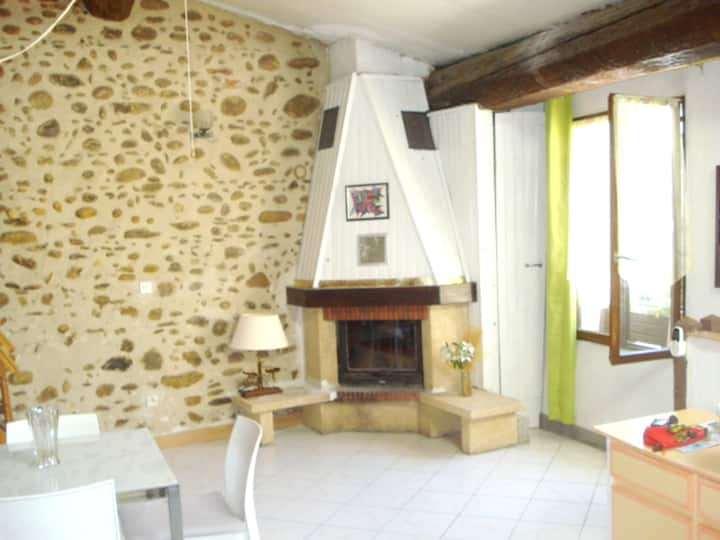 House with one bedroom in Ille-sur-Têt, with wonderful city view
