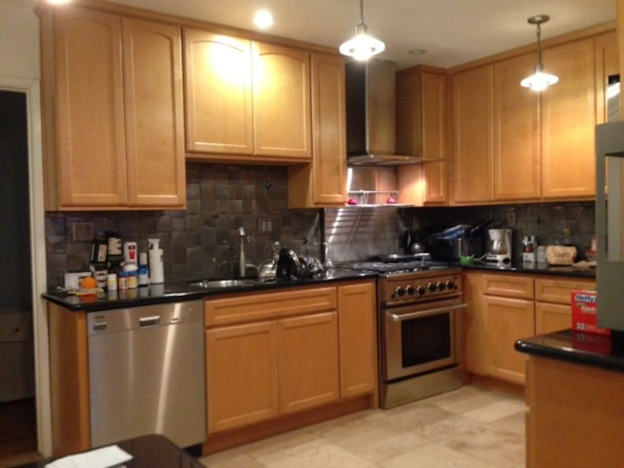Beautiful Updated Kitchen, Granite, Stainless Appliances